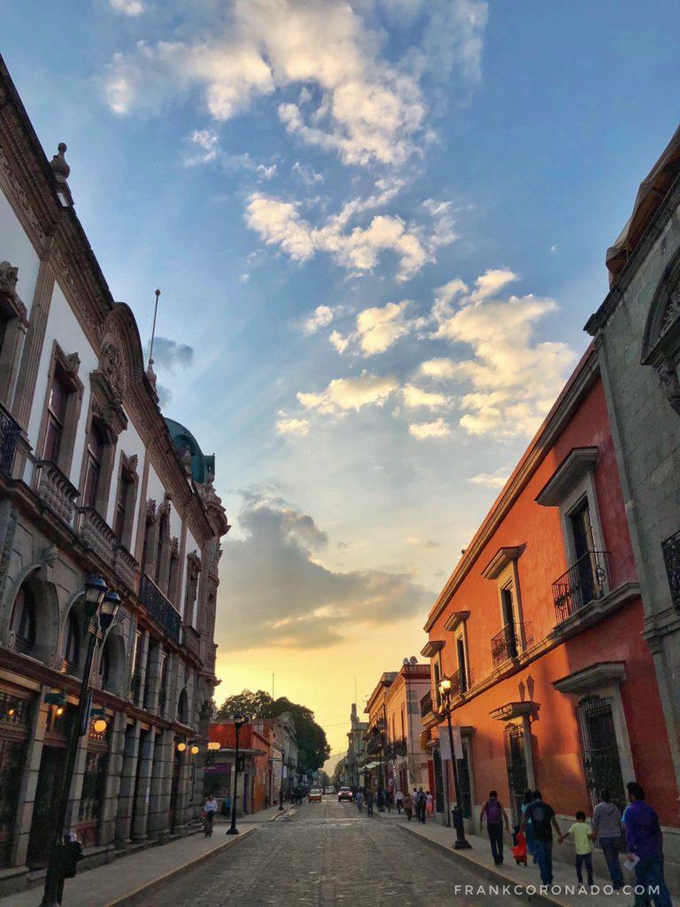 calle independencia ciudad de oaxaca