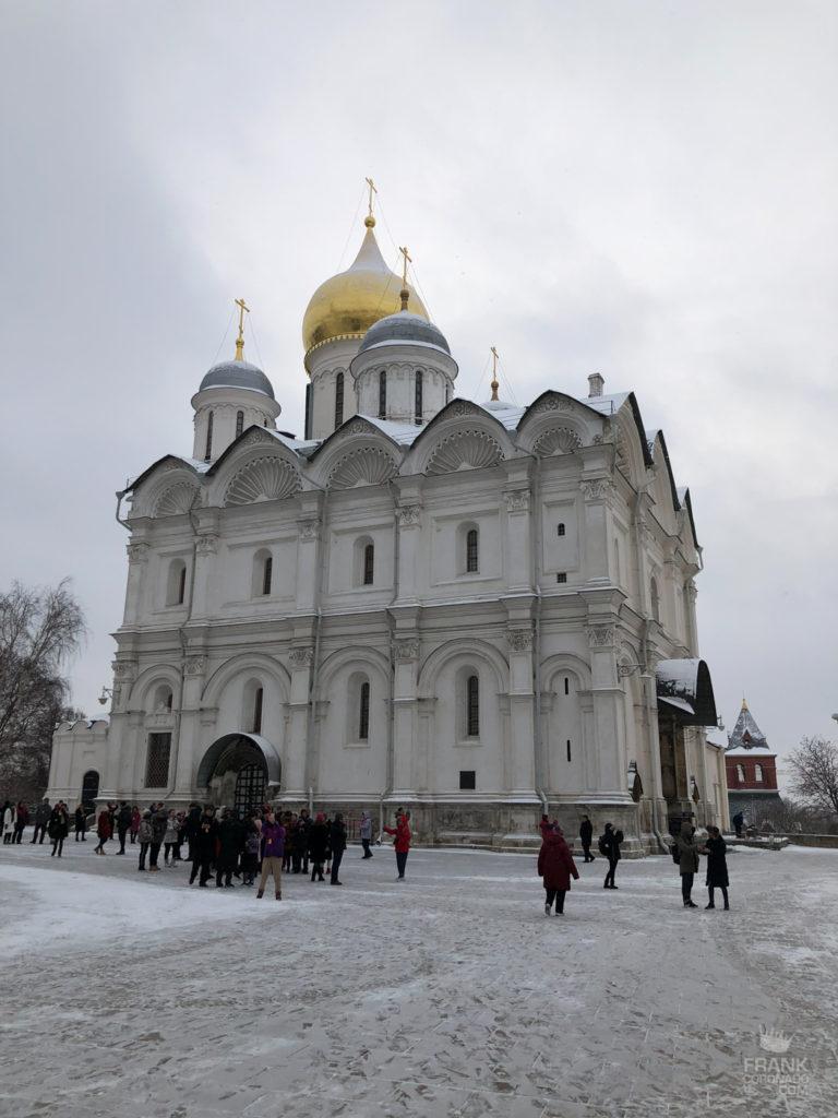 catedral del arcangel en moscu