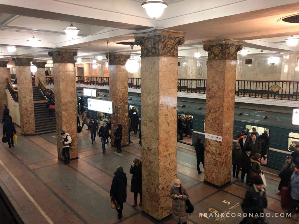 estacion del metro Komsomolskaya