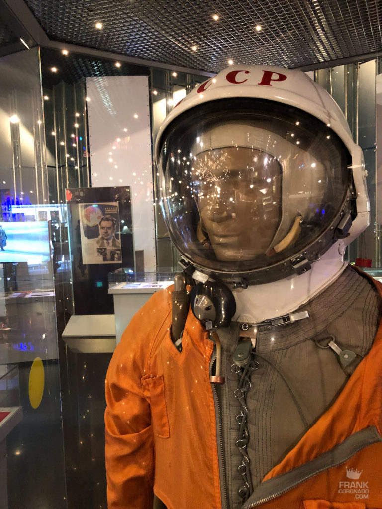 traje astronaura museo cosmonautica moscu