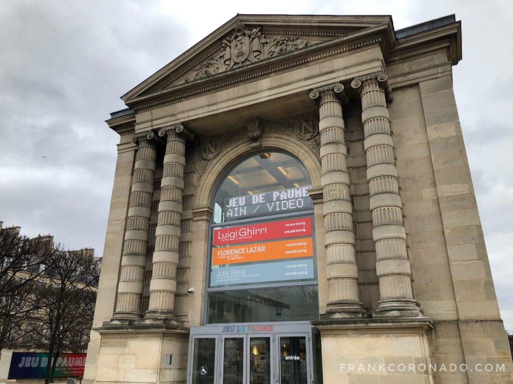 museo jeu de paume paris