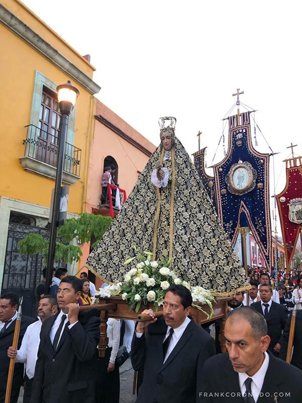 virgen patrona de la ciudad de Oaxaca