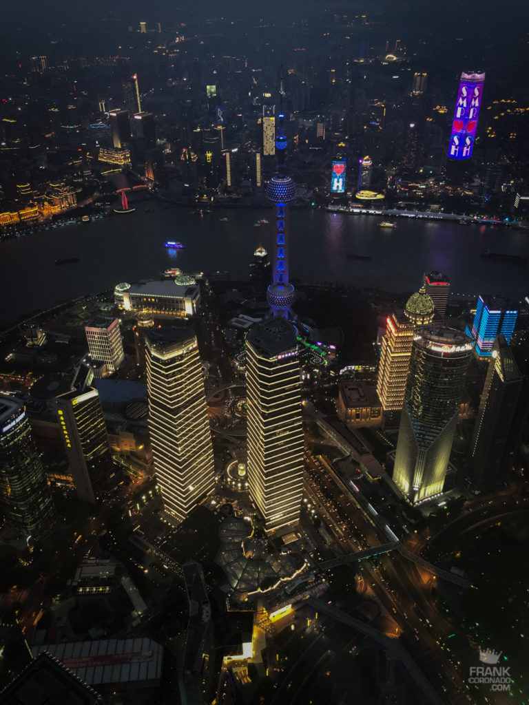 vista desde shanghai tower
