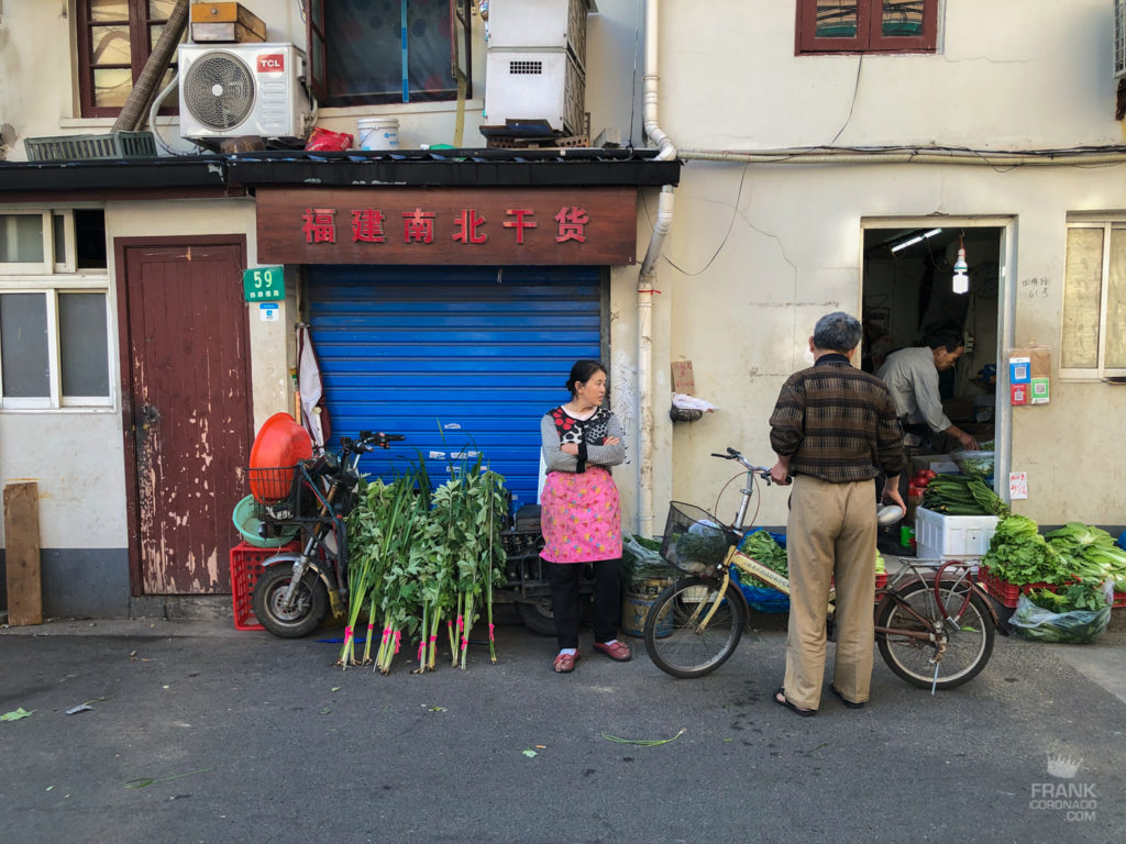 la vida en shanghai