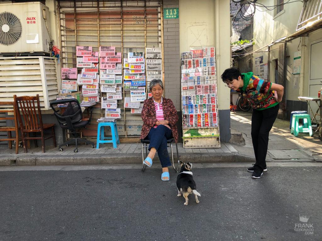 mujeres en shanhai