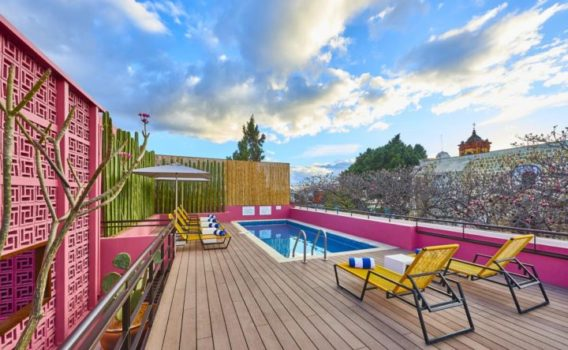 hotel con piscina en Oaxaca