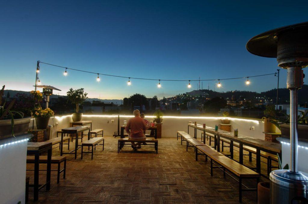 hoteles con terraza en oaxaca