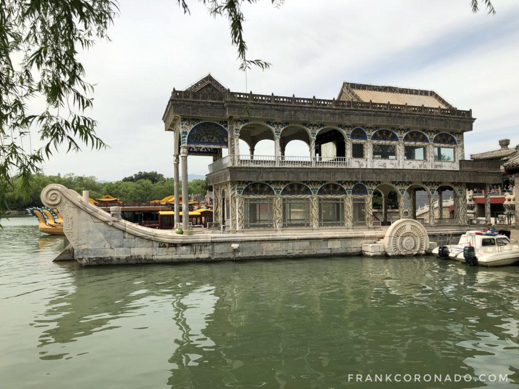 barco palacio de verano