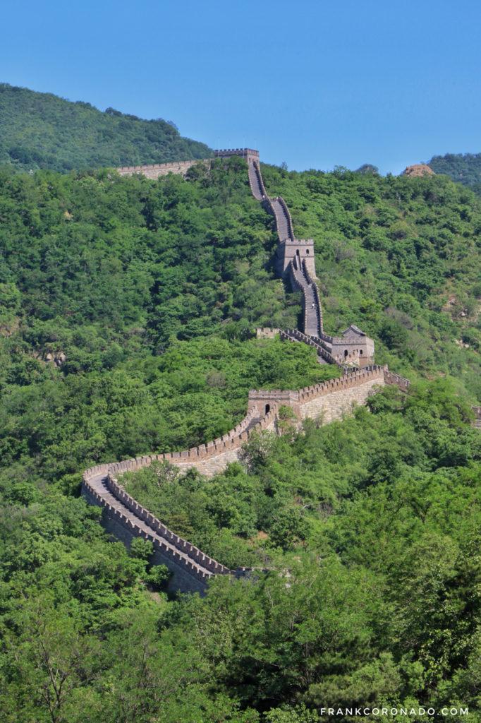 como llegar a la muralla china