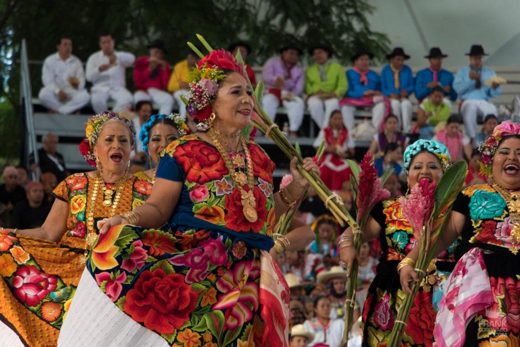 traje de gala de tehuana