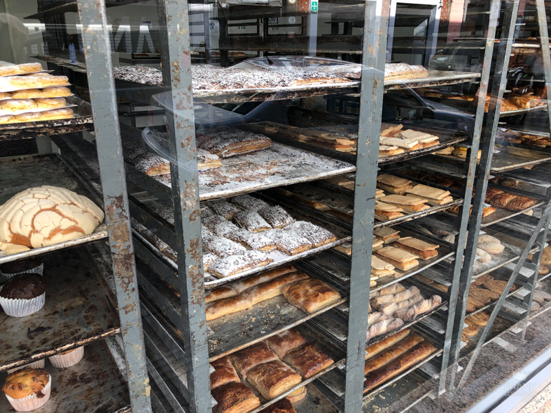 pan dulce de mexico, panaderia de mexico, pan dulce