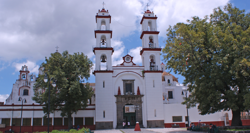 iglesias de puebla, barrios de puebla