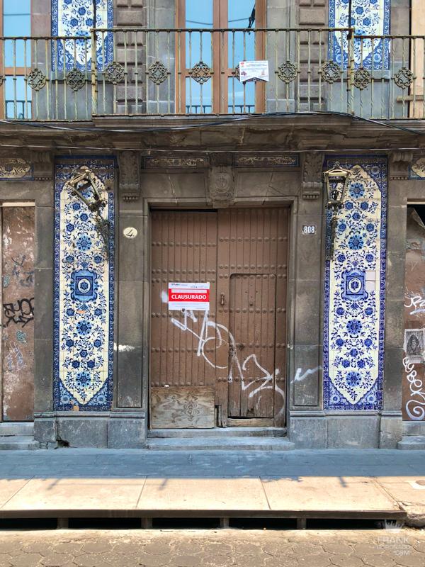 centro historico, viviendas de mexico