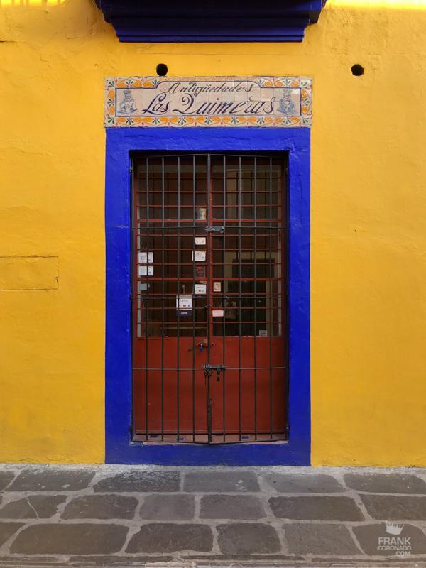 centro de puebla, paseos por mexico, Puertas y ventanas de Puebla