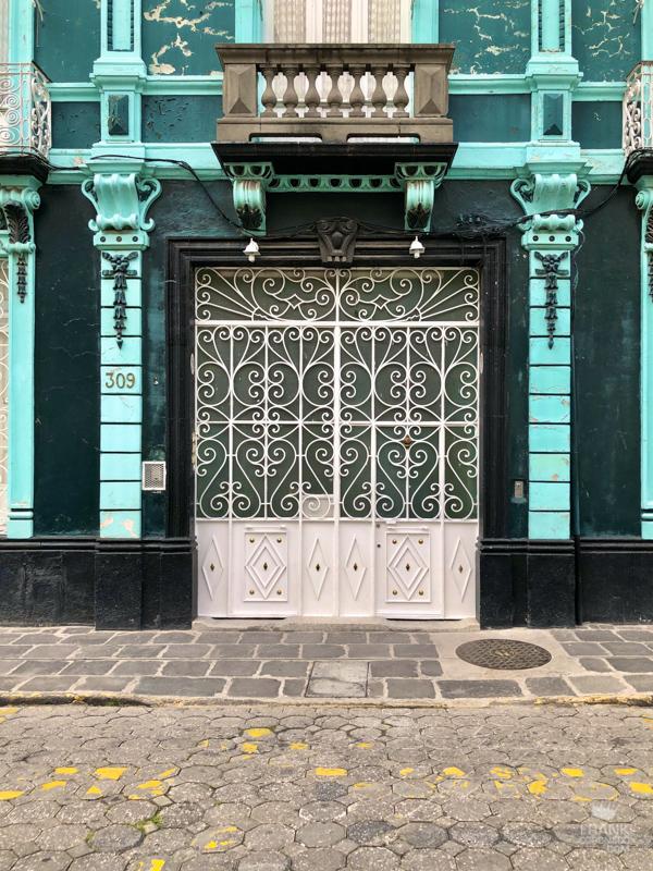 casas coloniales, fachadas de puebla
