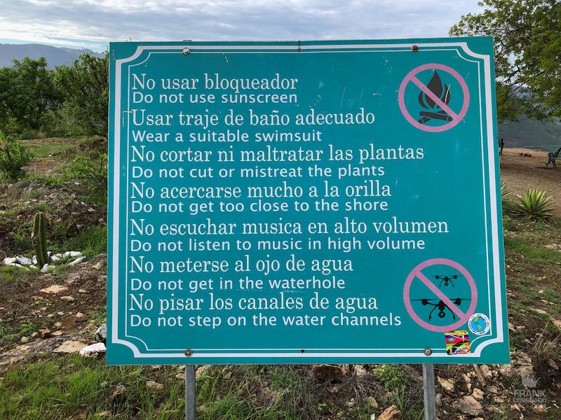 reglas en hierve el agua