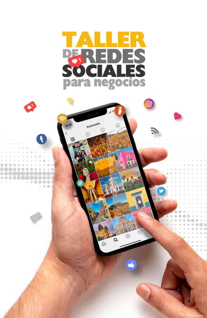 mercadotecnia, taller para redes sociales, taller instagram