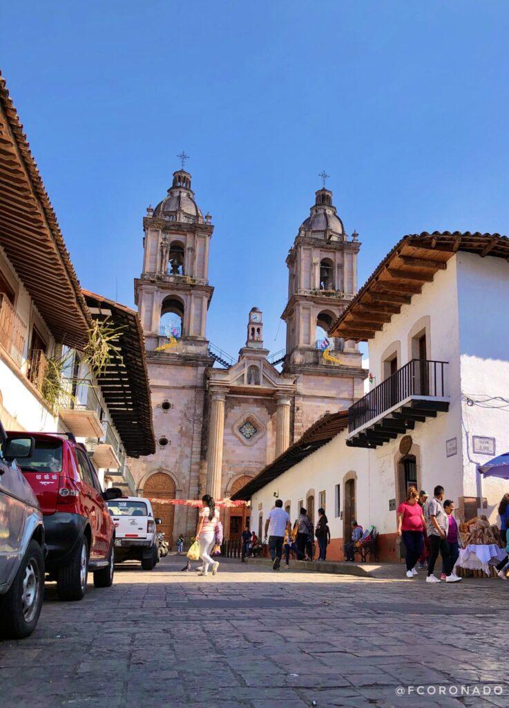 templo franciscano, iglesias de mexico, vacaciones en mexico