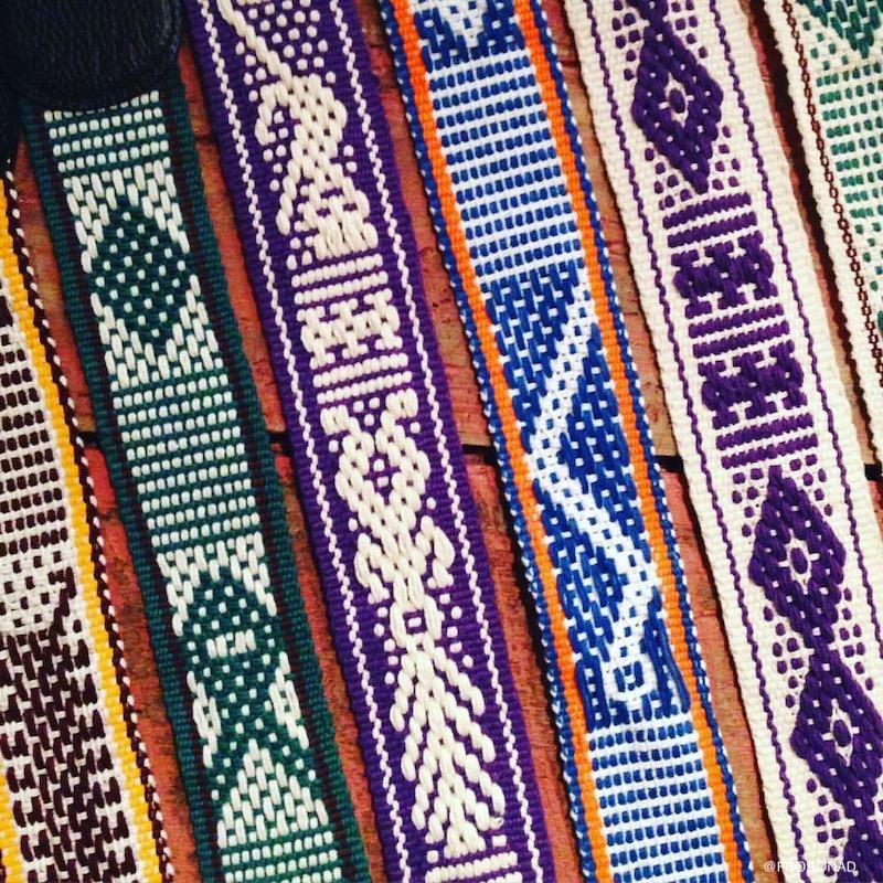 artesanias de oaxaca, correas artesanales, accesorios para camara