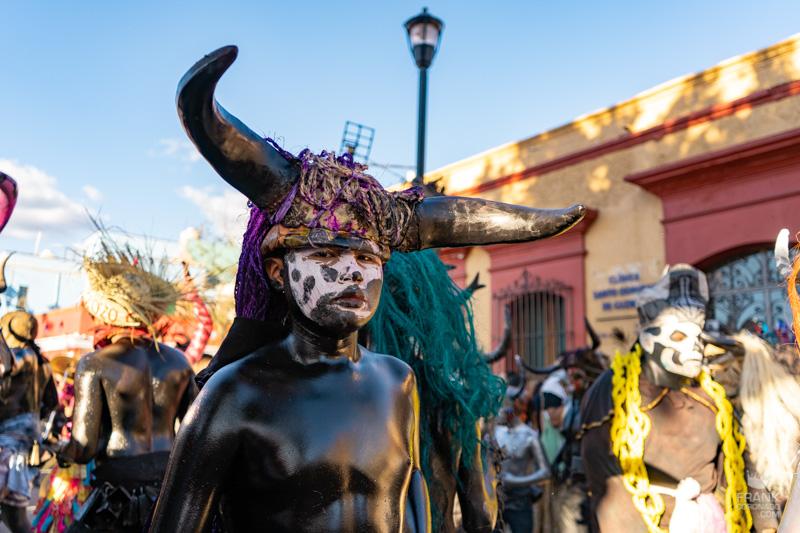 diablos aceitados, carnaval tilcajete, fiestas en oaxaca