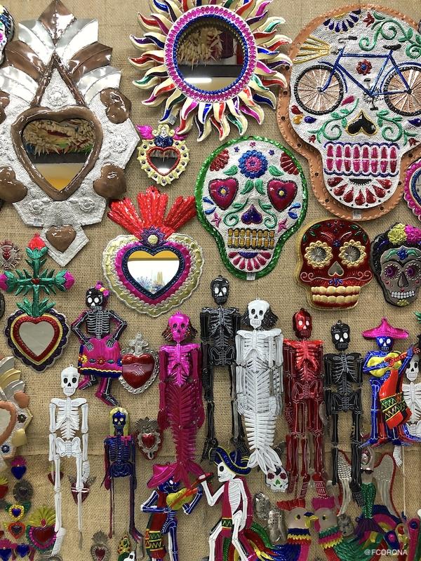 figuras de hojalata, hojalateria de mexico, fuguras de metal