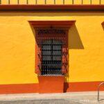 casa amarilla, casa colinial, arquitectura de oaxaca