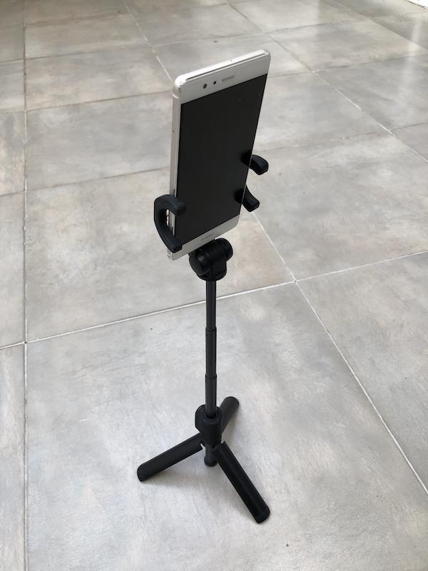 tripie para telefono con bluetooth