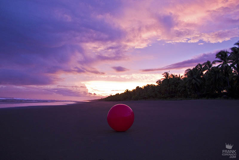 atardecer en playas de costa rica