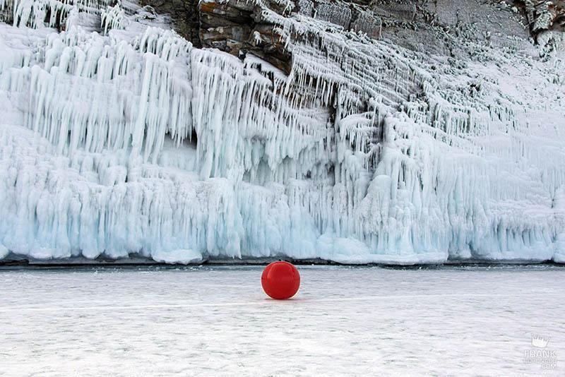 Lago Baikal congelado