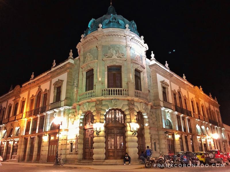 edificios emblematicos de oaxaca