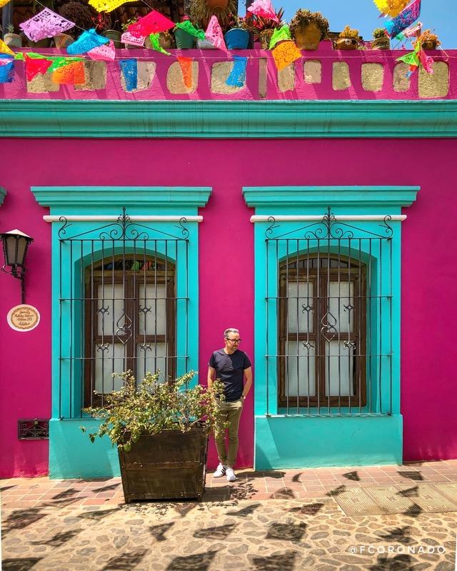 casas de colores en oaxaca