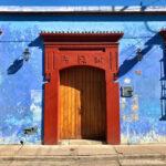 paredes de colores en oaxaca