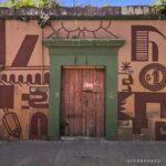 mural en muro de Oaxaca