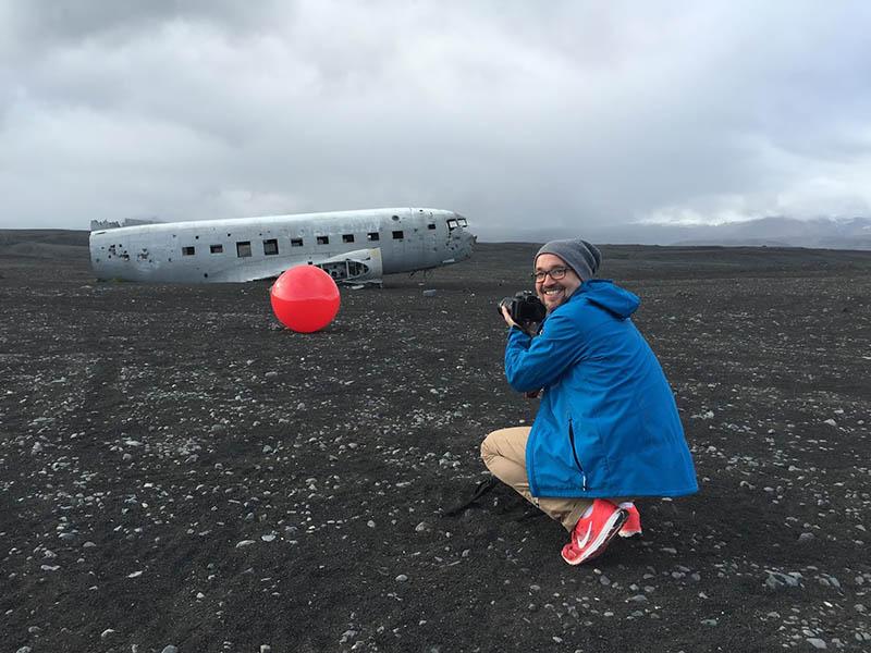 avion avandonado en islandia