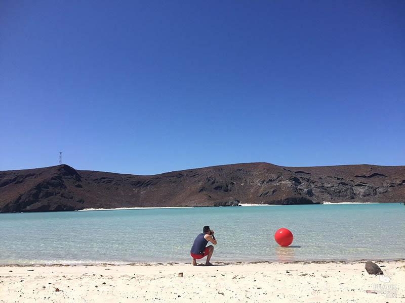 playa balandra en la paz
