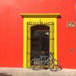 biciceta en casa de Oaxaca