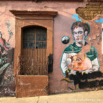 Mural de frida en oaxaca