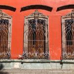 Ventanales del centro de Oaxaca