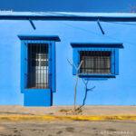 casa azul en el centro de oaxaca