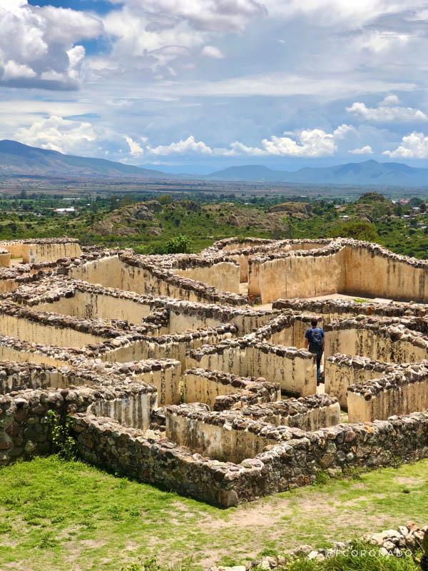zona arqueologica de yagul oaxaca