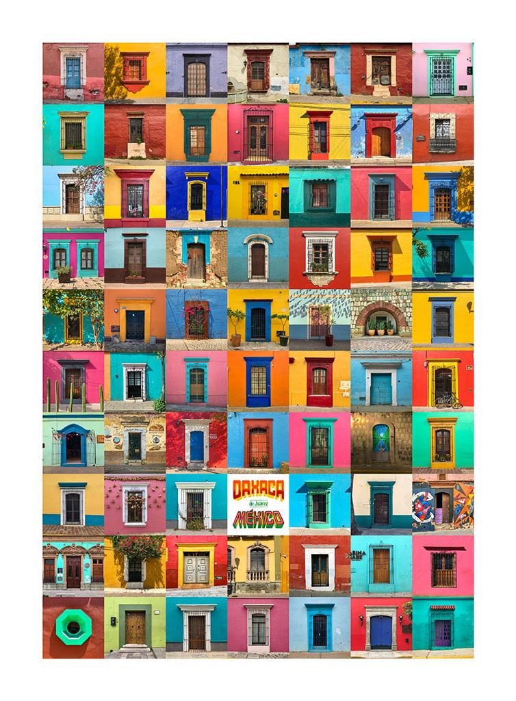 cartel fachadas de oaxaca