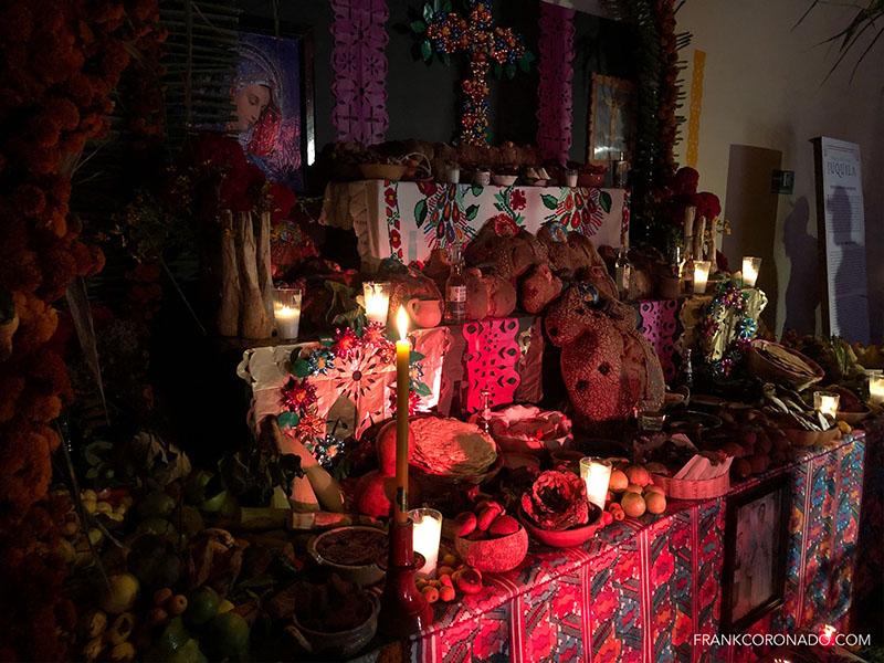 altar de muertos de la costa