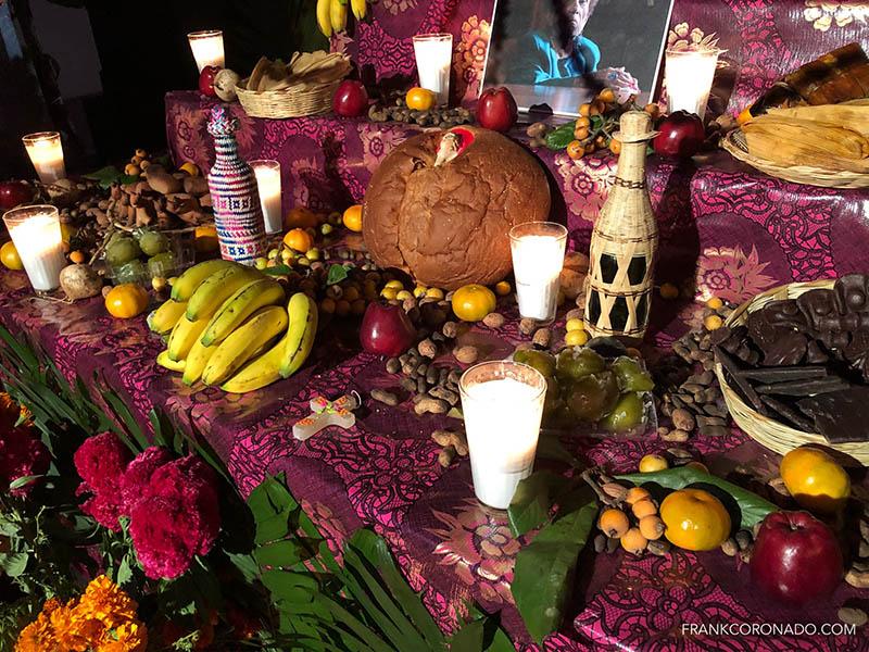 detalle altar de muertos