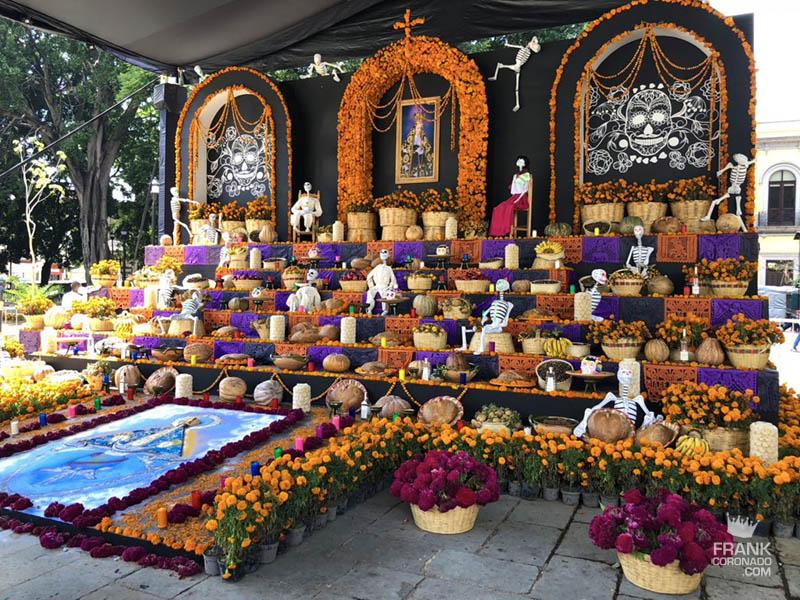 altar de muertos en mexico