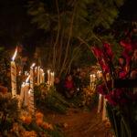 Noche en panteon