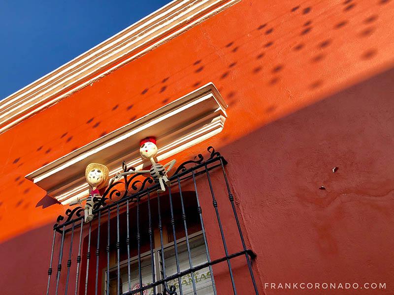 decoracion dia de muertos en Oaxaca
