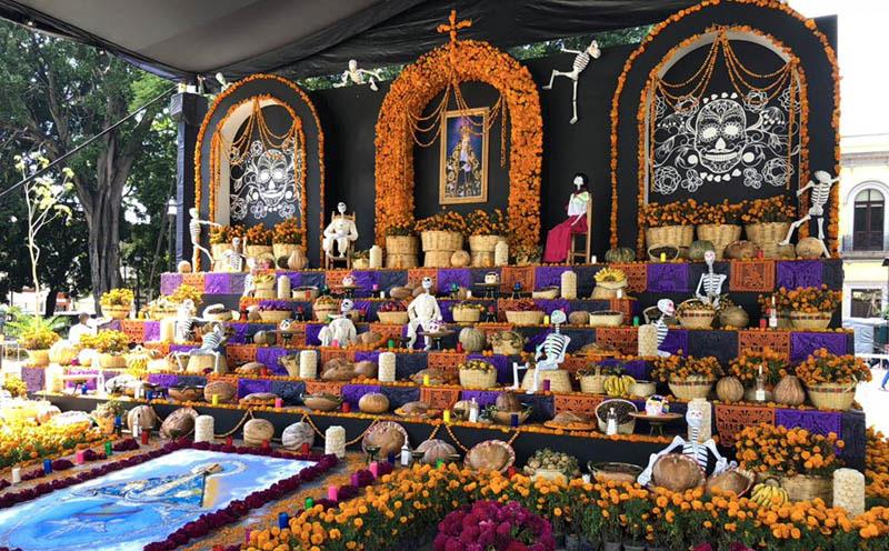 altares de muertos en Oaxaca
