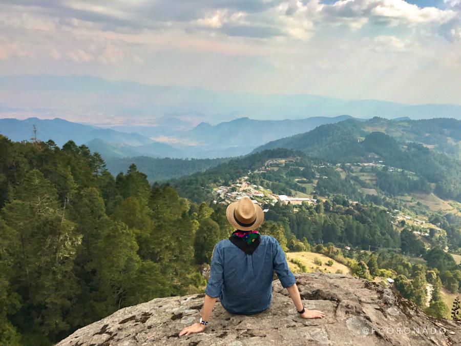 vista panoramica de la sierra norte