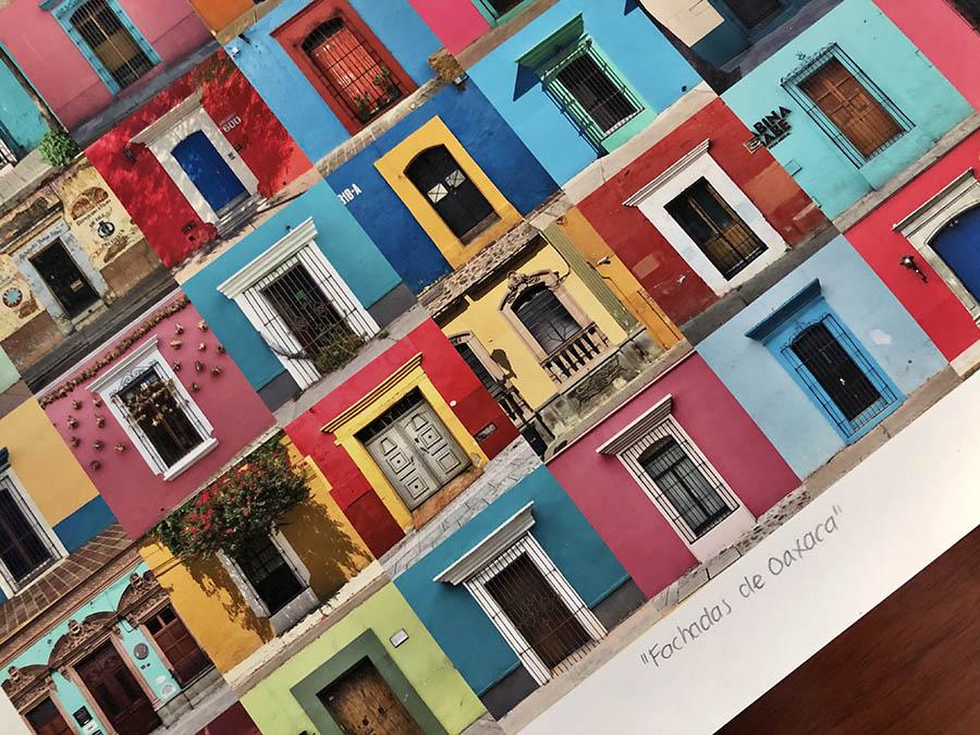 casas coloridas de oaxaca