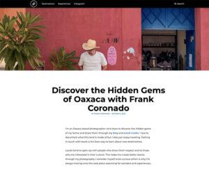Frank Coronado Oaxaca